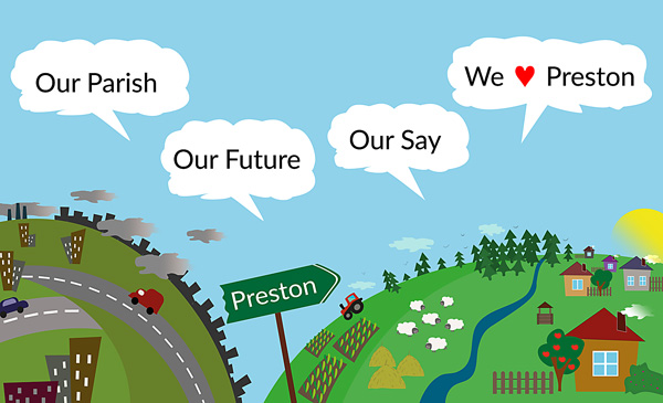 "Our Parish - Our Future - Our Say - ""We Love Preston"""
